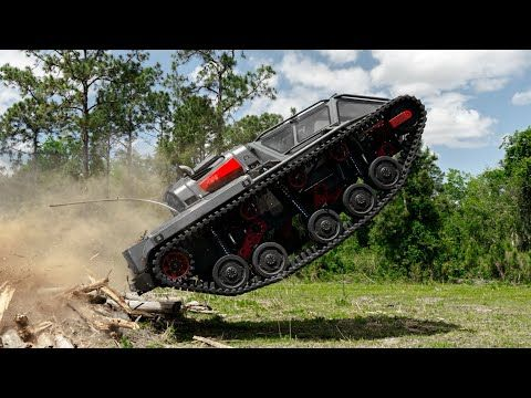 I Pushed The Ripsaw Tank To The Edge Of It's Limits!
