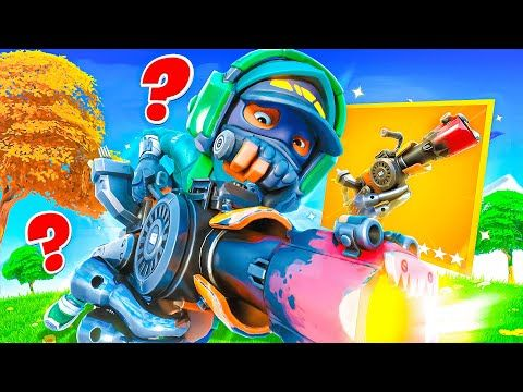 *NEW* RECYCLER GUN in FORTNITE!