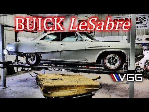 Buick LeSabre gets fuel system updates and Trunk Rust Repair