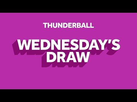 The National Lottery 'Thunderball' draw results from Wednesday 7th April 2021