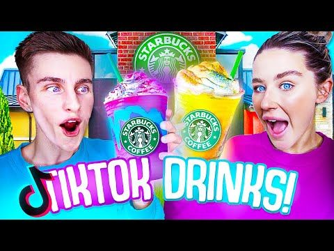 We Tested VIRAL TikTok Drinks! **STARBUCKS SECRET MENU**