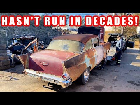 Rusty 1957 Chevy Project Car Revealed! Finnegan's Garage Ep.140