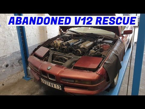 The Hack Jobs Unfold - Garden Find V12 BMW E31 850i Revival - Project Marseille: Part 2