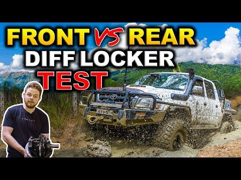 FRONT LOCKER vs REAR LOCKER vs TWIN LOCKED COMPARISON! + AIR vs AUTO vs E LOCKER – Shock answer!
