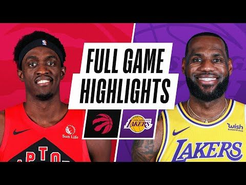 RAPTORS at LAKERS | FULL GAME HIGHLIGHTS | May 2, 2021